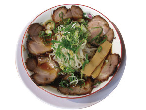 ●チャーシューしんちゃん麺
